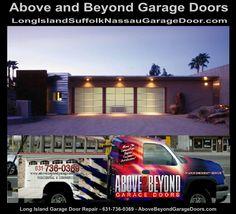 Garage Door Repair, Garage Door Opener, Dix Hills, Commercial Garage Doors, Port Jefferson, Kings Park, Nassau County, Long Island Ny, Above And Beyond