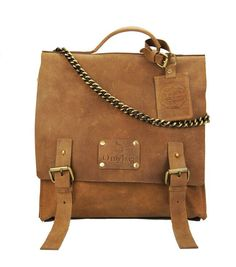 Eco Camel Leather Bag Uncovet