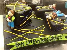 Laser Tag Party Cake - Bing images