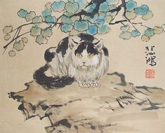 A cat god called Li Shou appears in the Chinese Book of Rites. He was worshipped by farmers because he protected the crops from being eaten by rats and mice.