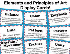 Elements Of Art Worksheets | elements and principles of art advert | Flickr - Photo Sharing!
