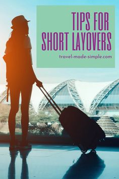 Does your flight itinerary have a short layover? That can be stressful! Check out our tips for short layovers and reduce the chances of missing your connection. | travel tips | flight tips | travel planning | travel hacks Air Travel Tips, Travel Hacks, Travel Advice, Vacation Destinations, Dream Vacations, Best Luggage, International Travel Tips, Short Break, What To Pack
