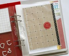 JenTapler Designs: December Daily 2013 Foundation Pages with Reverse Confetti