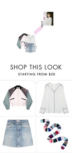 """the morning sun"" by the-clary-project ❤ liked on Polyvore featuring FANNYANDJESSY, WithChic, RE/DONE and Charlotte Simone"