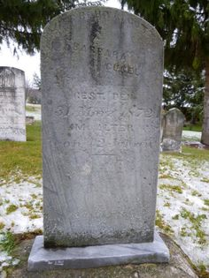 Tombstone Tuesday : Barbara (Bernthal) Gugel #genealogy #familyhistory