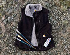 Carhartt Women's Sandstone Mock-Neck Vest