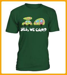 YES WE CAMPLimitierte Edition - Shirts für zelter (*Partner-Link)