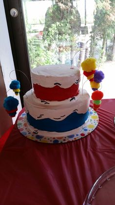 Dr Seuss inspired cake
