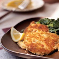 Breaded Pork Cutlets | MyRecipes.com #myplate #protein
