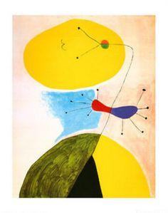 Joan Miro, Portrait