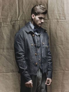 Nigel Cabourn Chest Pocket Work Jacket