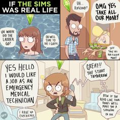 Wishing life had cheat codes: | 18 Animated Comics That Perfectly Illustrate The Struggles Of Daily Life