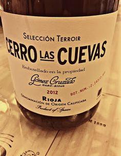 El Alma del Vino.: Bodegas Gómez Cruzado Cerro Las Cuevas Selección Terroir 2012