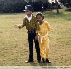 Rashad and Aaliyah
