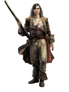 Mary Read (c. 1685 – 1721) was an English pirate and member of the Assassin Order, trained by the Mentor of the Caribbean Assassins, Ah Tabai. She was also one of the founders of the Pirate Republic of Nassau. In order to facilitate her career as a pirate, she posed as James Kidd, an illegitimate son of the late William Kidd.