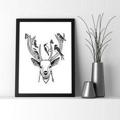 Need deer head art f