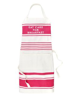 diner stripe apron by kate spade new york