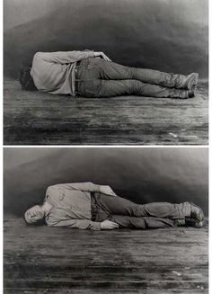 Vito Acconci, Lay of the Land (Two Parts) 1969