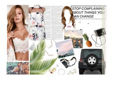 """June 9th"" by aubreypruitt ❤ liked on Polyvore featuring Zara, Wrangler, Timorous Beasties, Eos and Vanessa Mooney"