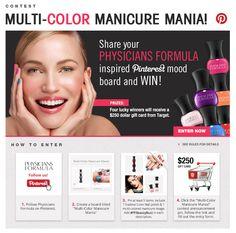 Multi-Color Manicure Mania Contest