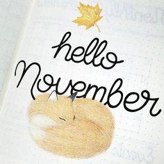 Hello November! I hope everyone has a fantastic month!  #bulletjournaljunkie #bulletjournaljunkies #weeklyplanner #bujoweekly #bulletjournalcommunity #bulletjournal #bulletjournals #bulletjournaling #bujoaddict #bujolayout #bujoinspo #weekly #bujofitness #bujoing