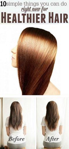 10 Tips for healthy hair - Top Beauty 'n' Health