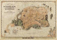 Big Thunder Island, Frontierland, Disneyland Paris