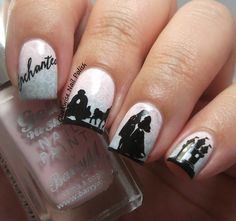 The Clockwise Nail Polish: Uber Chic Fairytale-01 Stamping Plate Review. What an enchanting nail art design! Who knew nail art could be so fun AND so easy! Nail stamps by Uber Chic Beauty Stamps are so detailed and look so Uber Chic! So easy to do and great for everyone!