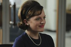 """""""I signed the first new business since Lucky Strike left. But it's not as important as getting married. Mad Men Peggy, Sixties Hair, Peggy Olson, Shirley Jackson, Mad Women, Elisabeth Moss, Don Draper, Mad Men Fashion, Invisible Man"""