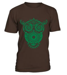 # an owl with different decorations in the style of the Mexican Sugar Skulls T Shirts .  HOW TO ORDER:1. Select the style and color you want: 2. Click Reserve it now3. Select size and quantity4. Enter shipping and billing information5. Done! Simple as that!TIPS: Buy 2 or more to save shipping cost!This is printable if you purchase only one piece. so dont worry, you will get yours.Guaranteed safe and secure checkout via:Paypal | VISA | MASTERCARD