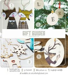 Gift Guides – Holiday Decorations from Not On The High Street