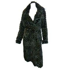 J.Mendel reversable  Work of Art Mink Fur Coat