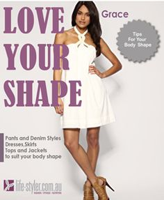 Download your FREE copy of our Love Your Shape clothing guide.  Written by our stylist and offered exclusively throughhttp://life-styler.com.au/free-mini-mags/ #bodyshapes #invertedtriangle, #stylisttips #stylemepretty
