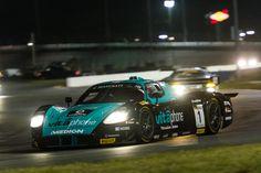 VitaPhone Racing Maserati MC12 GT1 Race Car Competing in the Classic 24 Hours of Daytona