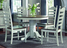 Shop for Liberty Furniture 5 Piece Pedestal Table Set, and other Dining Room Sets at Hickory Furniture Mart in Hickory, NC. Round Dining Room Sets, Dining Room Bar, Dining Rooms, Kitchen Tables, Kitchen Nook, Rustic Kitchen, Country Kitchen, Dining Area, Kitchen Decor
