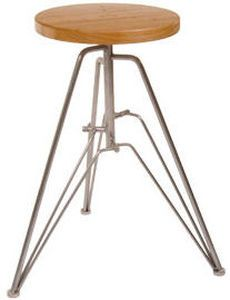 Contemporary wood stool TRIPLE by Matthew Ridsdale formfollows