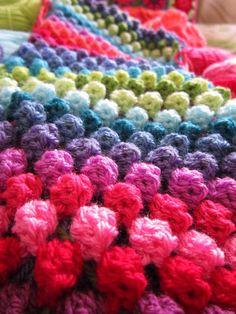 colour in a simple life: Granny Bobble Stripe