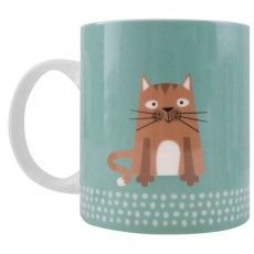 Scandi Tabby Cat Mug