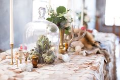 Neutral tablescape photo by Wheat Photography -Styling- The Cottage Rose #kcflorist