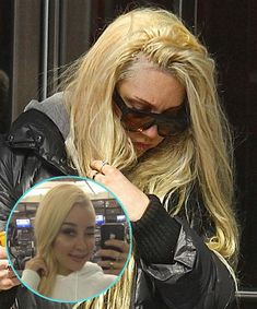 Amanda Bynes Amanda's blond and blue wigs trump these tragic hair extensions. Yep, we said it. Natural Hair Care Tips, Natural Hair Styles, Bad Hair Extensions, Blue Wig, Amanda Bynes, Damaged Hair, Celebrity Hairstyles, Hair Loss, Beauty Care