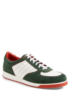 Gucci 'Tennis 84' Suede Sneaker (Men) available at #Nordstrom