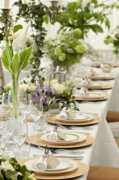 Embossed gold charger plates add a sense of occasion and elegance?