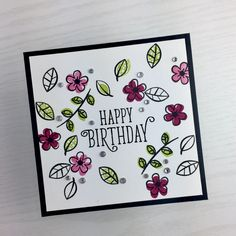 In Color Birthday Card