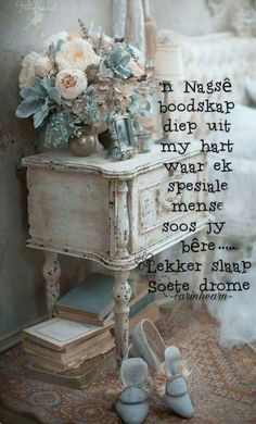 Good Morning Inspirational Quotes, Good Night Quotes, Afrikaanse Quotes, Goeie Nag, Good Night Sweet Dreams, Night Wishes, Good Morning Good Night, Special Quotes, Love Rose