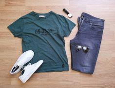 Green grey white