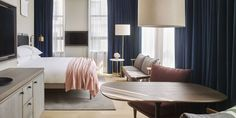 5 Decorating Tricks To Steal From One Of New York's Hottest New Hotels - ELLEDecor.com