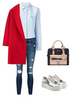 """""""Untitled #952"""" by abbey-ceee ❤ liked on Polyvore featuring mode, See by Chloé, rag & bone/JEAN, Alexander McQueen, Marc by Marc Jacobs, women's clothing, women, female, woman et misses"""