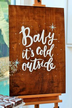 'Baby it's cold outside.. ' Baby Shower Party Ideas | Photo 1 of 17