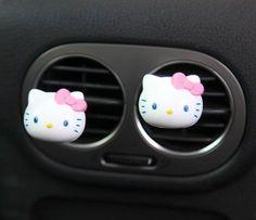 Hello Kitty Car Fragrance Kit: Apple