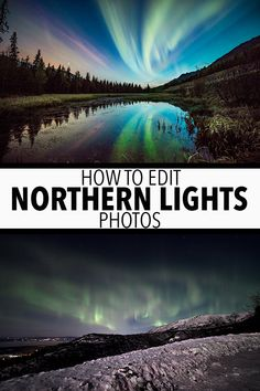 Part 4 of the 'How to Shoot the Aurora' series: How to edit northern lights photos. This tutorial will take you start to finish editing aurora on Lightroom. Aperture Photography, Dslr Photography Tips, Photography Lessons, Photography Business, Travel Photography, Photography Books, Night Photography, Family Photography, Portrait Photography